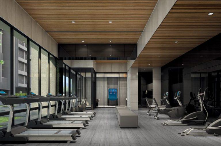 位於2樓的健身室。(圖片來源:互聯網)