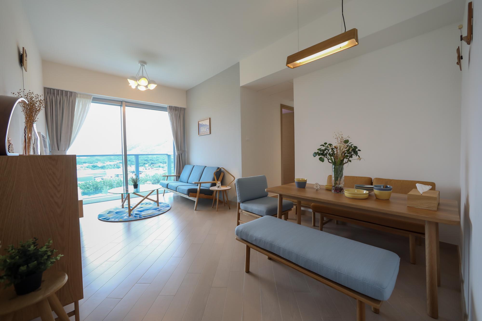 飯廳引入日本L&D(Living & Dining)概念,將生活空間和用餐融合。